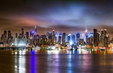 3D Ковер «Ночной город»