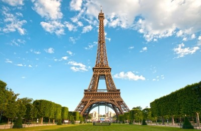 3D Ковер «Эйфелева башня»