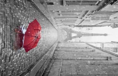 3D Ковер «Дождь в Париже»