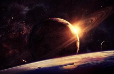 3D Ковер «Юпитер на орбите»