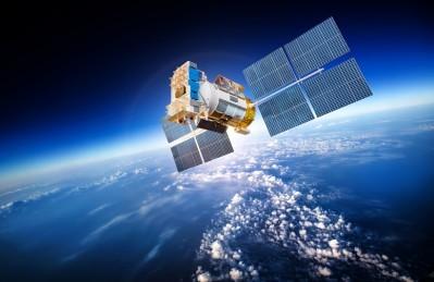 3D Ковер «Спутник над атмосферой»