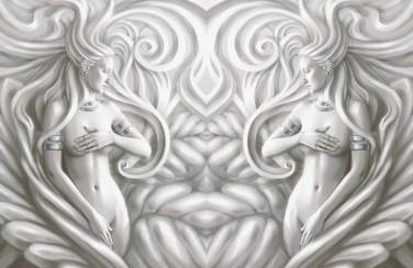 3D Ковер «Женщины барельеф»