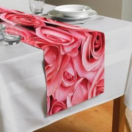 Сервировочная дорожка «Обилие роз»