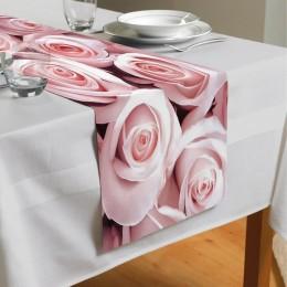 Сервировочная дорожка «Благоухающий букет нежных роз»