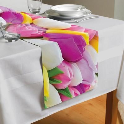 Сервировочная дорожка «Разнообразие тюльпанов»