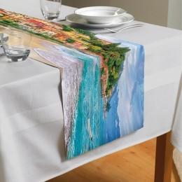 Сервировочная дорожка «Прилив на итальянском побережье»