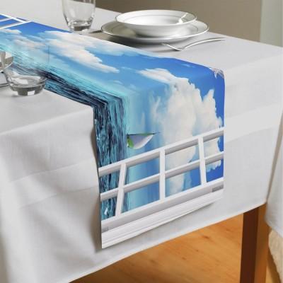 Сервировочная дорожка «Распахнутое в море окно»