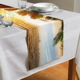 Сервировочная дорожка «Закат под пальмами»