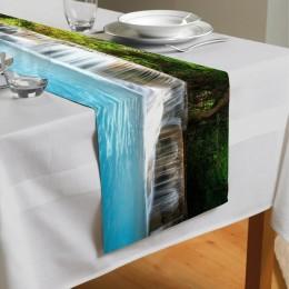 Сервировочная дорожка «Водопад с голубой водой»