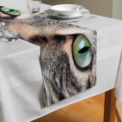 Сервировочная дорожка «Кошачий взгляд»