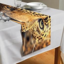 Сервировочная дорожка «Леопард портрет»