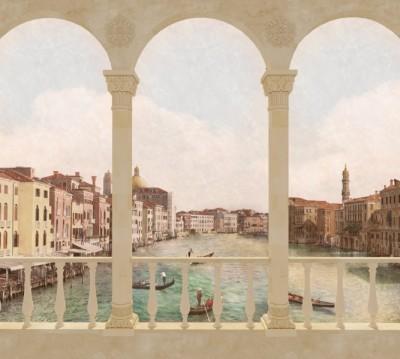Фотошторы «Балкон в Венеции»