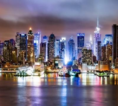Фотошторы «Ночной город»