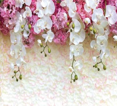 Фотошторы «Ниспадающие орхидеи» 3D Фотошторы