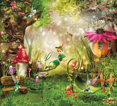 Фотошторы «Феечки в сказочном лесу»