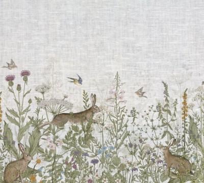 Фотошторы «Степные зайцы»