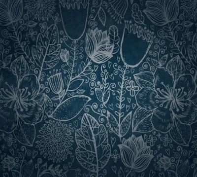 Фотошторы «Вечерние цветы»