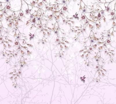 Фотошторы «Цветочный занавес»