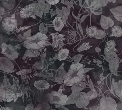 Фотошторы «Тёмно-вишнёвая шаль»