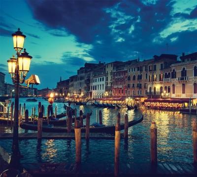 Фотошторы «Вечерняя Венеция»