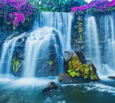 Фотошторы «Горный водопад»