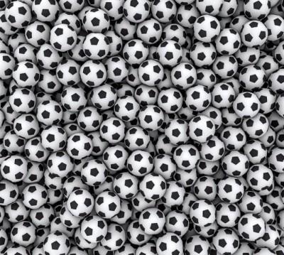 Фотошторы «Множество мячей»