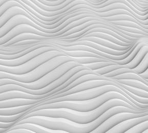 Фотошторы «Объемные волны»