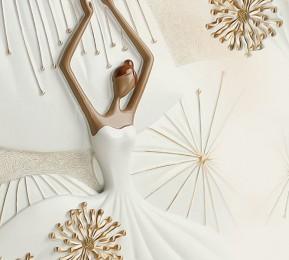 Фотошторы «Лебяжий танец»