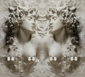 Фотошторы «Греческая дева»
