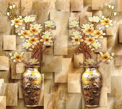 Фотошторы «Объемные китайские вазы»