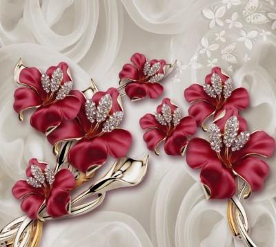 Фотошторы «Драгоценные лилии» 3D Фотошторы
