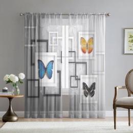 Фототюль «Коллекция бабочек»
