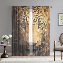 Фототюль «Леопард портрет»