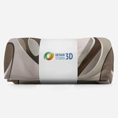 3D плед «Удивительная абстракция» 3D Пледы