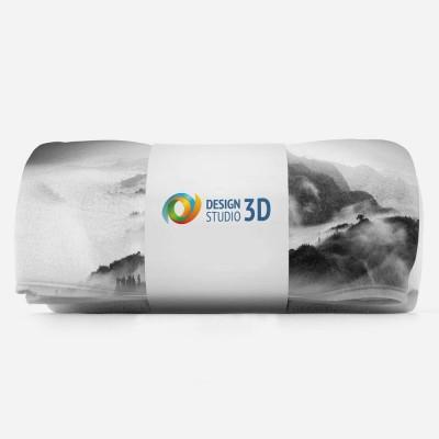 3D плед «Туманный пейзаж» 3D Пледы