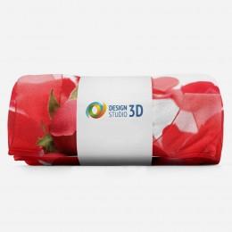 3D плед «Композиция с алыми розами»
