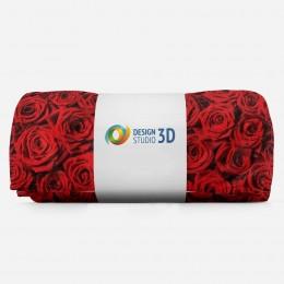 3D плед «Миллион алых роз»