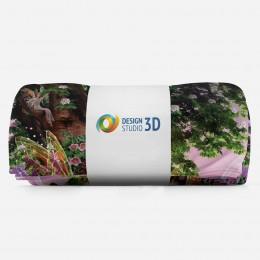 3D плед «Феи в сказочной стране»
