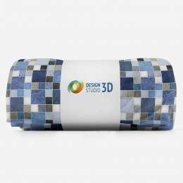 3D плед «Мраморное разнообразие»