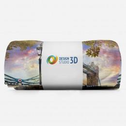 3D плед «Тауэрский мост»