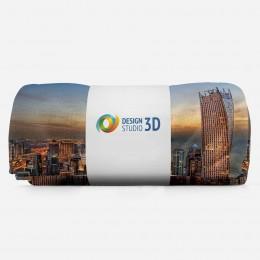 3D плед «Ночной Дубай»