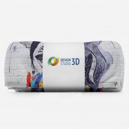 3D плед «Чародейка»