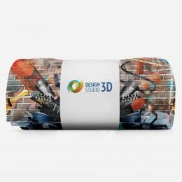 3D плед «Улетный кавардак»