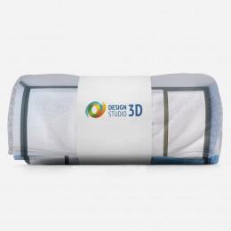 3D плед «Окно-терраса»