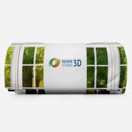 3D плед «Панорамное окно»
