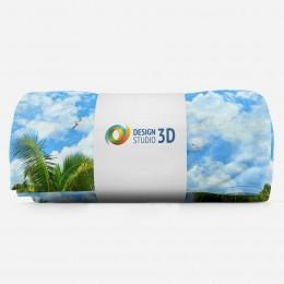 3D плед «Лазурный пляж»