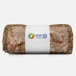 3D плед «Резьба по дереву в китайском стиле»