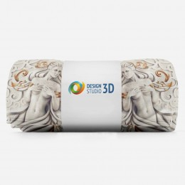 3D плед «Морские принцессы»
