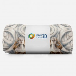 3D плед «Морские владычицы»