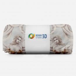 3D плед «Барельеф с сиренами»
